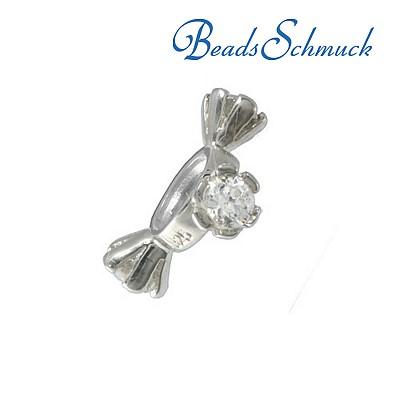 Amello Megabeads Edelstahl Ohrhänger für Beads Edelstahlohrringe AMO001W