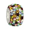 Carlo Biagi Swarovski Elements Bead Ring bunt BBSCR06MCP
